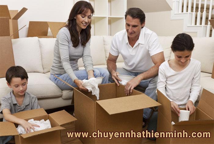 Chuyển nhà trọn gói đáp ứng mọi yêu cầu của bạn